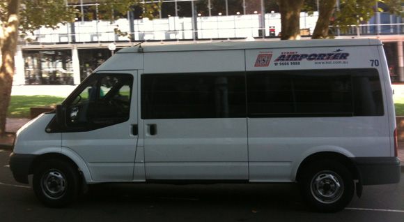 KST Sydney Airport Shuttle Review