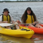 Kayaking Fun Valentine's Day At Golden Beach